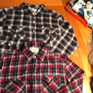 Other - 2 Men's size medium long sleeve shirts